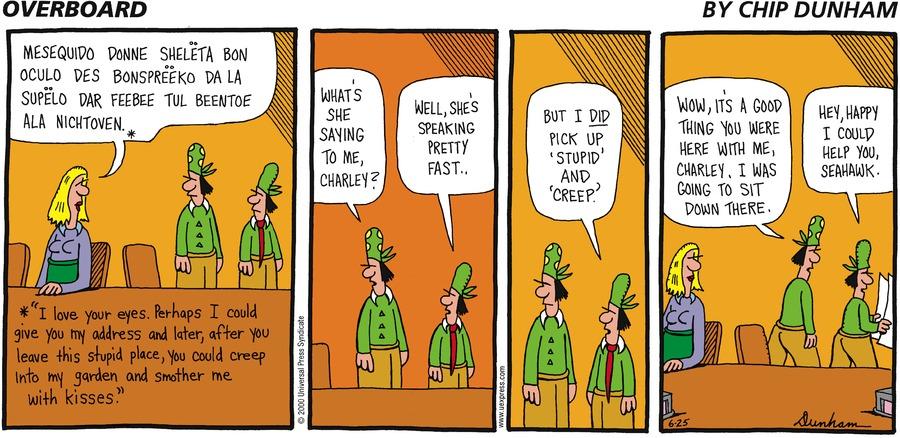 Overboard for Jun 25, 2000 Comic Strip