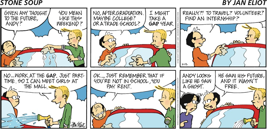 Stone Soup Comic Strip for October 13, 2019