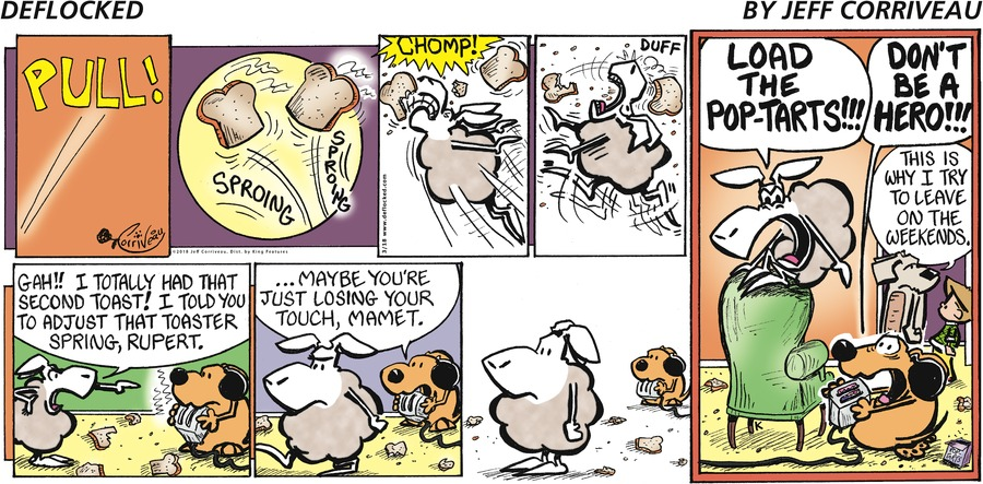 DeFlocked Comic Strip for March 18, 2018