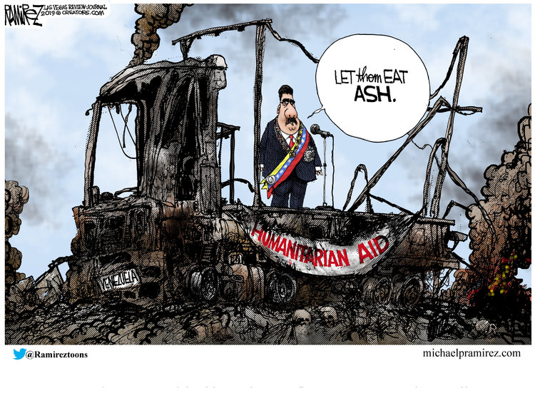Michael Ramirez by Michael Ramirez for February 27, 2019