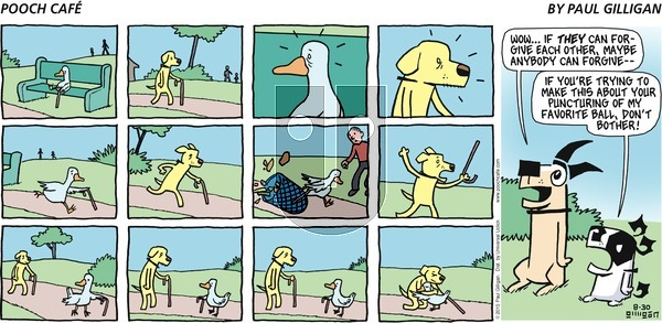 Pooch Cafe on Sunday August 30, 2015 Comic Strip