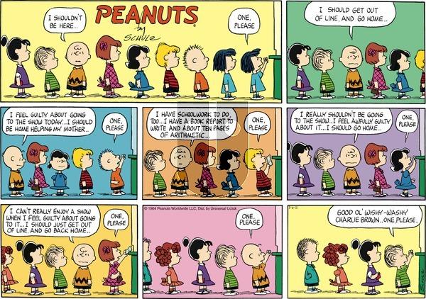 Peanuts - Sunday March 6, 2011 Comic Strip