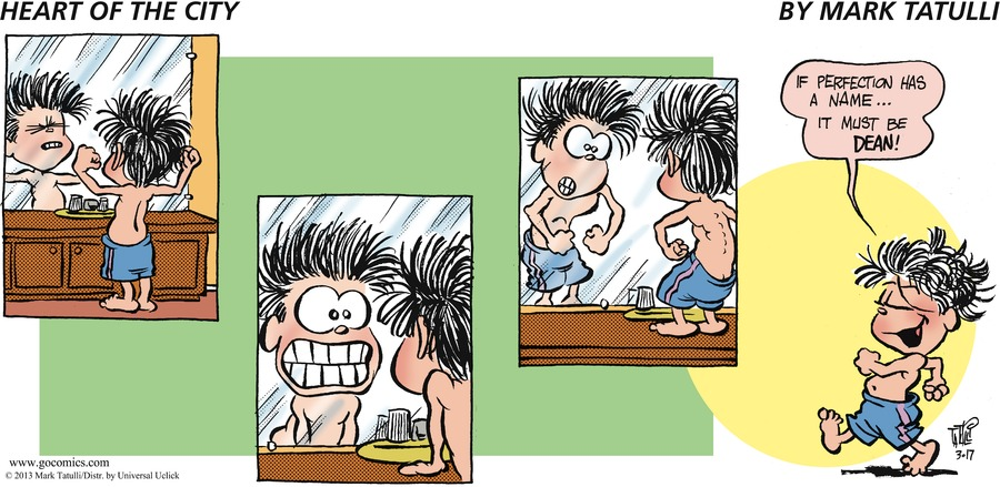 Heart of the City for Mar 17, 2013 Comic Strip
