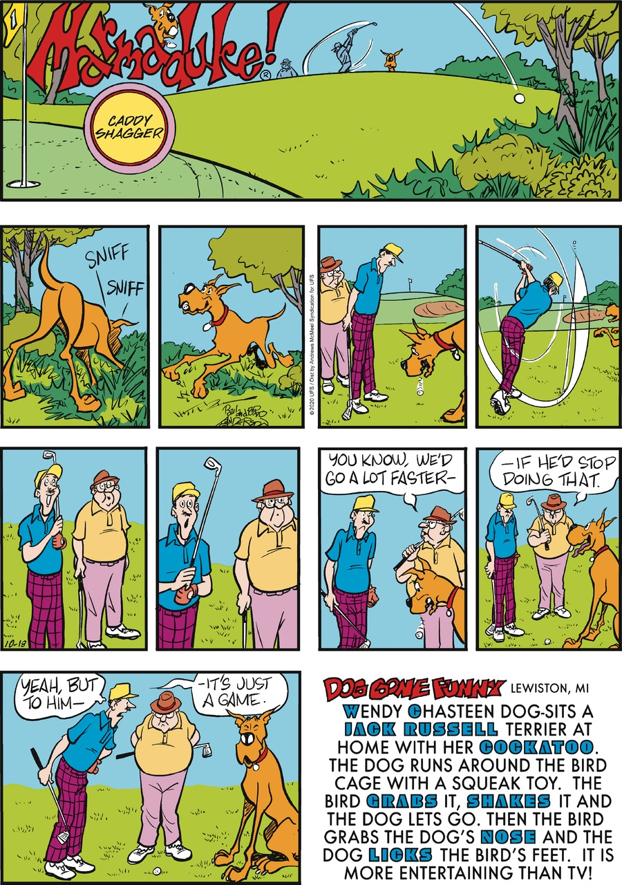 Marmaduke by Brad Anderson on Sun, 18 Oct 2020