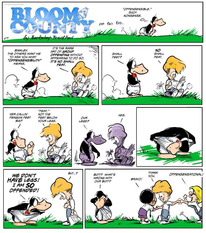 Bloom County 2019 Comic Strip for May 13, 2018