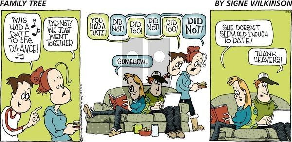 Family Tree on Sunday February 13, 2011 Comic Strip
