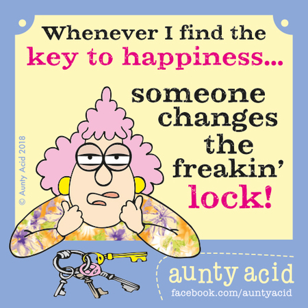 Aunty Acid by Ged Backland for October 29, 2018