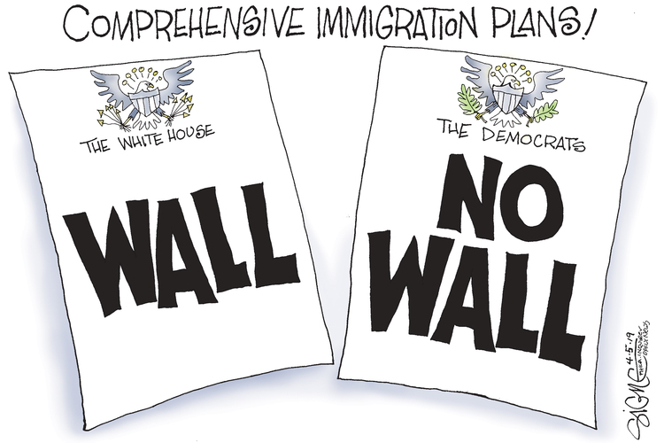 Signe Wilkinson by Signe Wilkinson for April 05, 2019