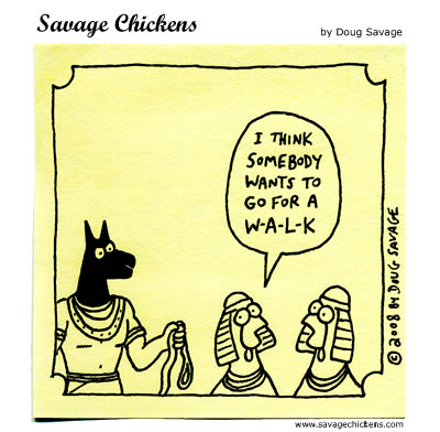 Savage Chickens Comic Strip for August 10, 2012