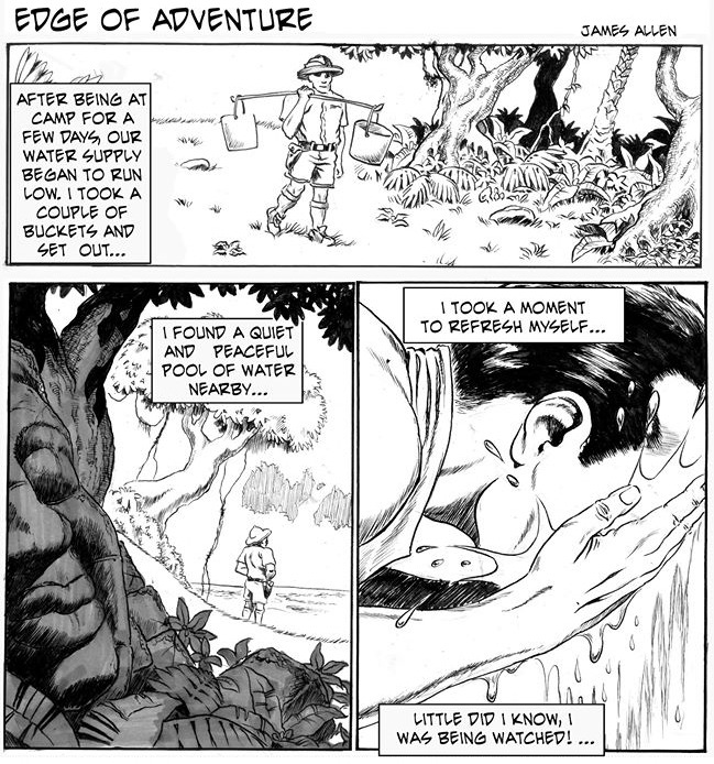 Edge of Adventure by James Allen and Brice Vorderbrug for August 04, 2019