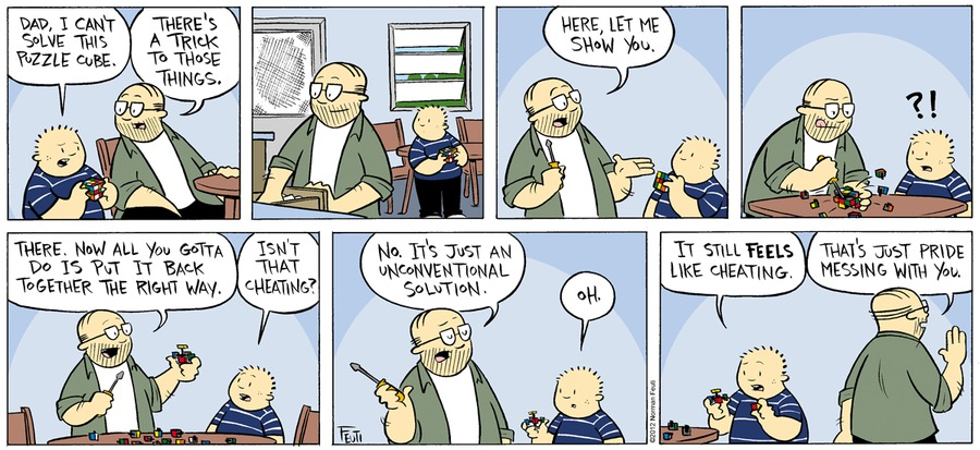 Gil Comic Strip for April 10, 2016