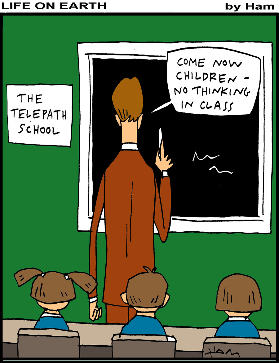 Life on Earth Comic Strip for February 18, 2019