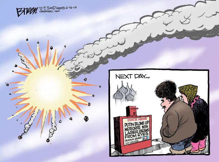 Steve Breen for Feb 16, 2013 Comic Strip