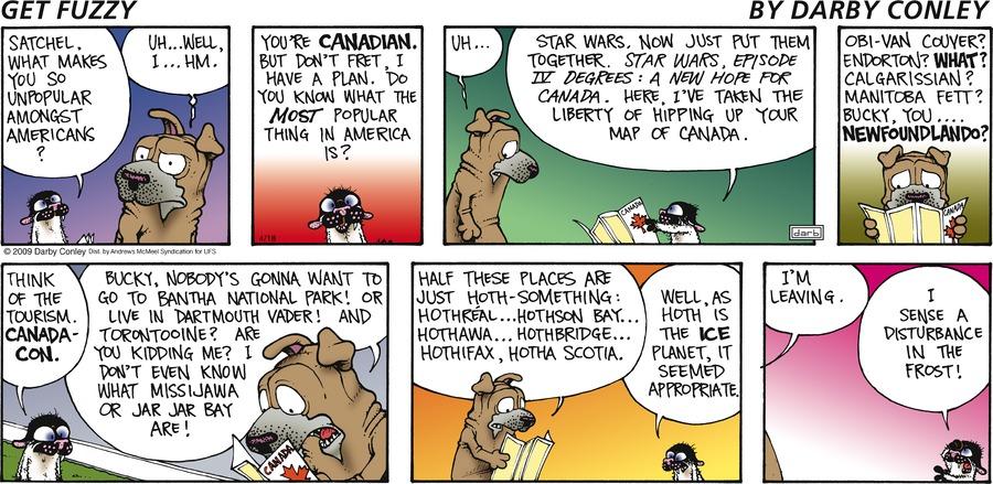 Get Fuzzy Comic Strip for April 18, 2021