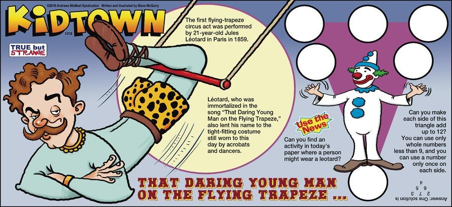 KidTown Comic Strip for January 13, 2019