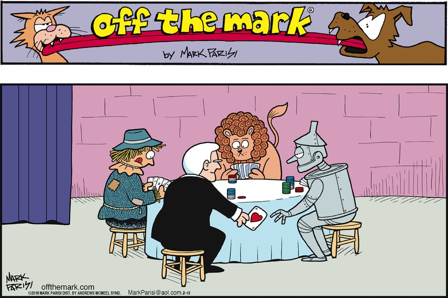 Off the Mark for Feb 11, 2018 Comic Strip