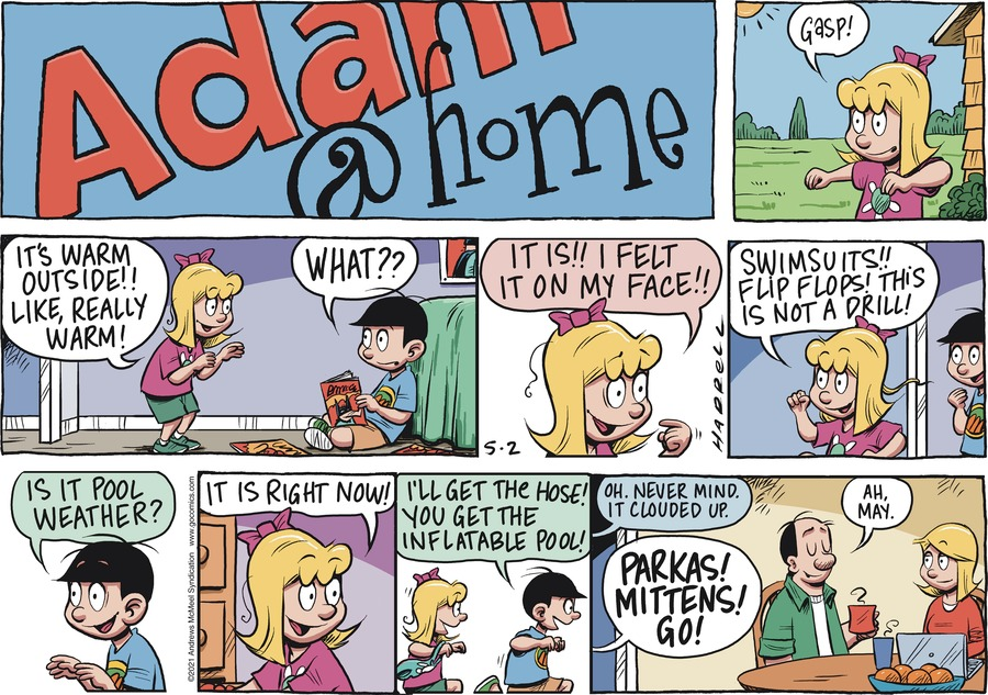 Adam@Home Comic Strip for May 02, 2021