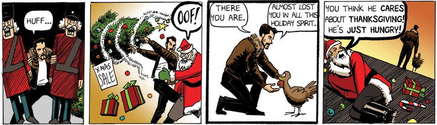 Beardo for Nov 19, 2012 Comic Strip