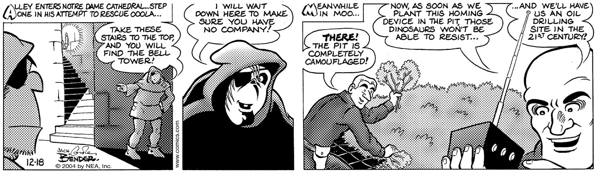 Alley Oop for Dec 18, 2004 Comic Strip