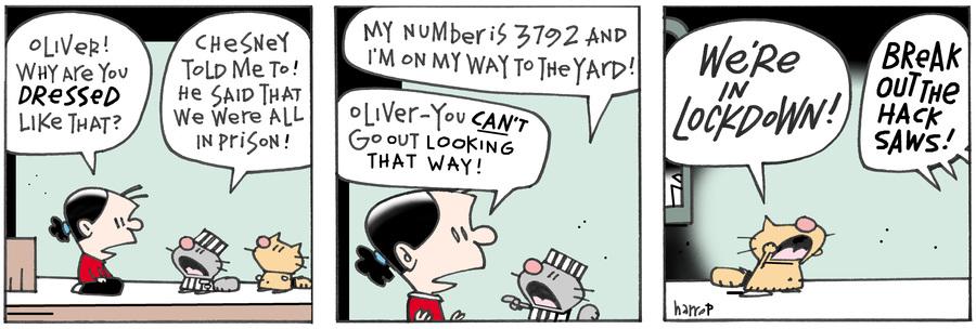 Ten Cats Comic Strip for October 04, 2016