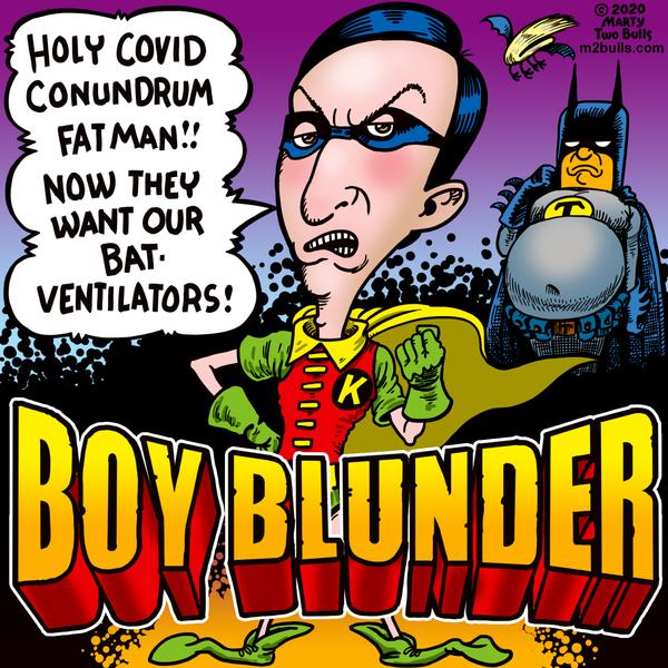M2Bulls Comic Strip for April 09, 2020