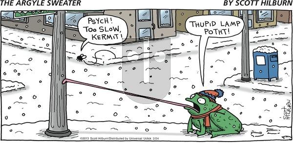 The Argyle Sweater on Sunday February 24, 2013 Comic Strip