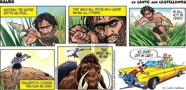 Baldo on Sunday June 5, 2011 Comic Strip
