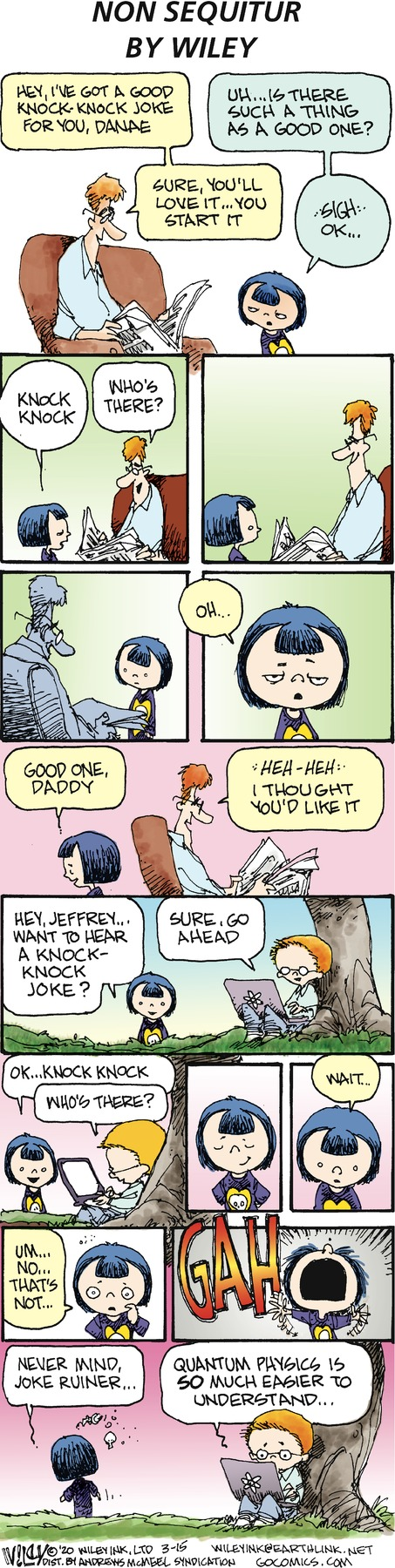 Non Sequitur Comic Strip for March 15, 2020