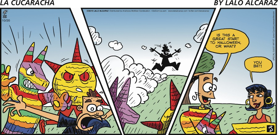La Cucaracha Comic Strip for October 20, 2019