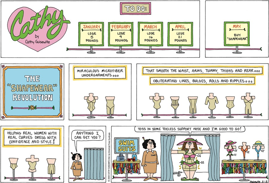 Cathy Comic Strip for May 19, 2019