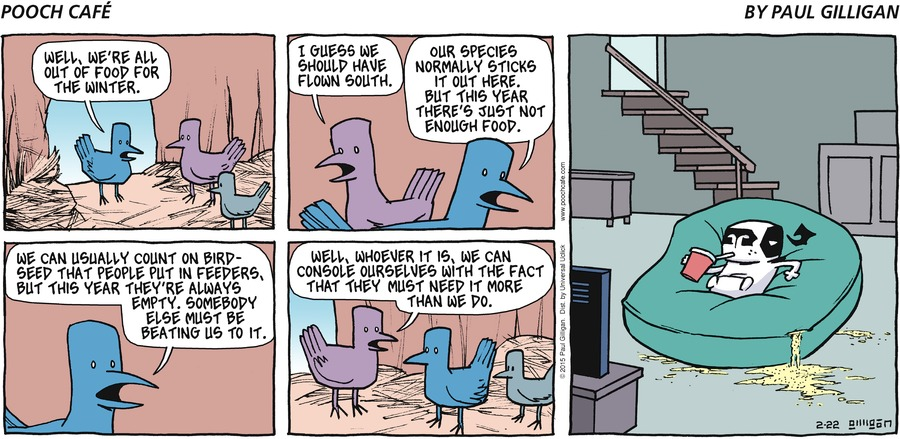 Pooch Cafe Comic Strip for February 22, 2015