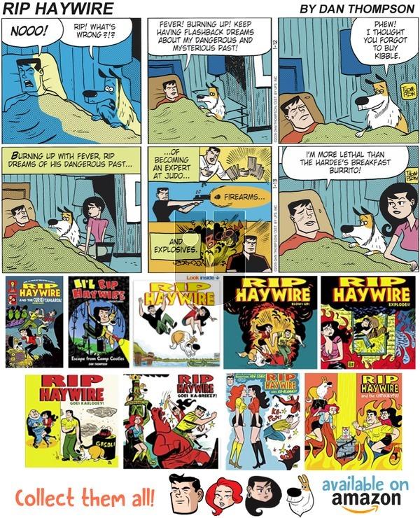 Rip Haywire on Sunday April 15, 2018 Comic Strip