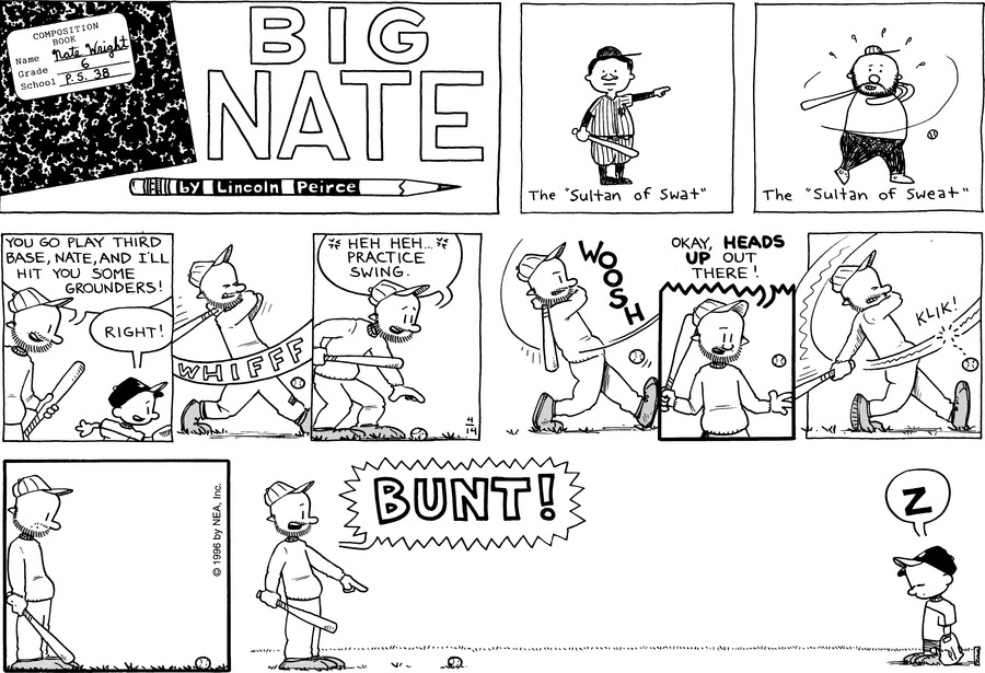 Big Nate: First Class by Lincoln Peirce on Sun, 25 Apr 2021