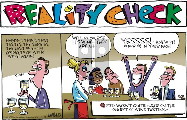 Reality Check on Sunday September 13, 2020 Comic Strip