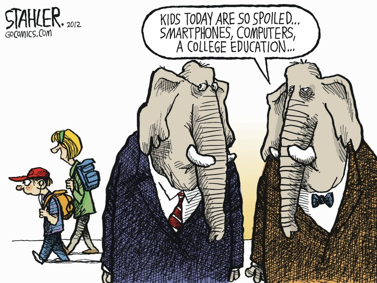 Jeff Stahler Comic Strip for August 19, 2012