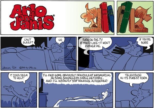 Arlo and Janis on Sunday January 24, 2010 Comic Strip