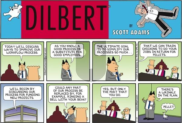 Dilbert on Sunday October 11, 2009 Comic Strip