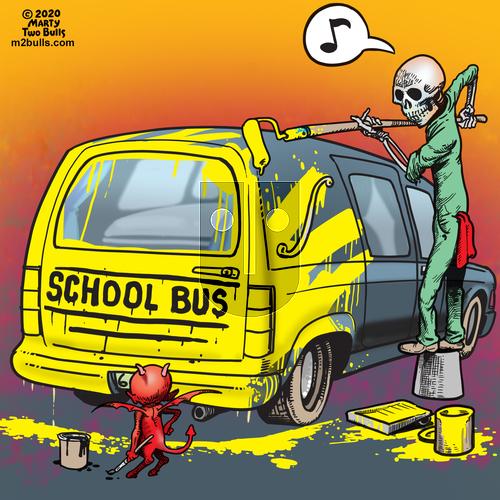 M2Bulls on Thursday May 28, 2020 Comic Strip