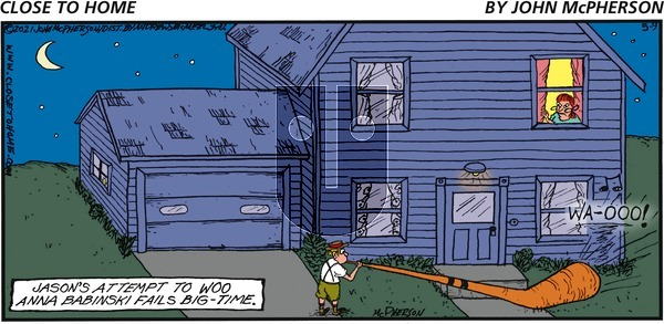 Close to Home on Sunday May 9, 2021 Comic Strip