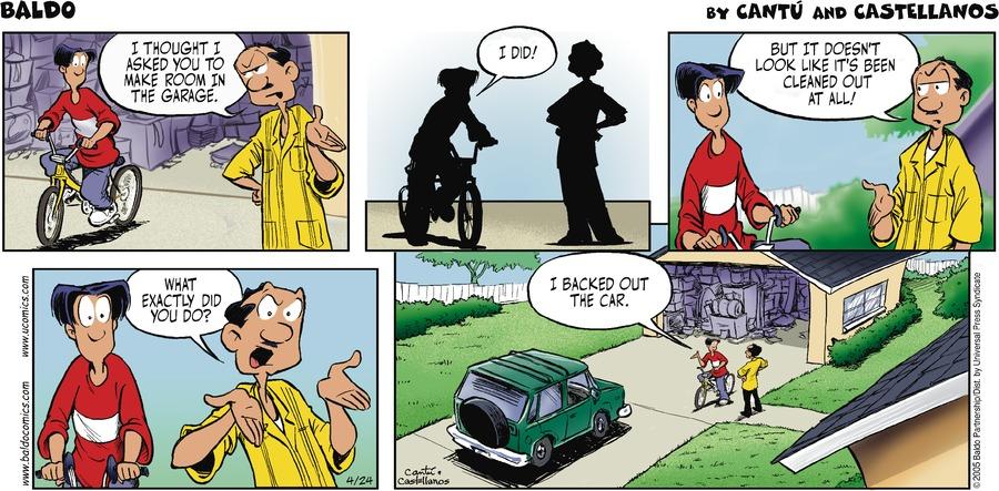 Baldo Comic Strip for April 24, 2005
