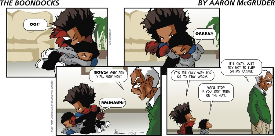 The Boondocks by Aaron McGruder for March 24, 2019