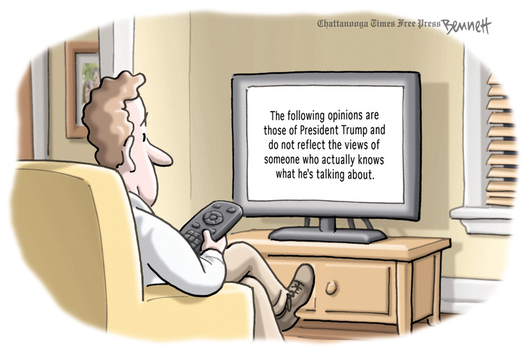 Clay Bennett by Clay Bennett for January 09, 2019