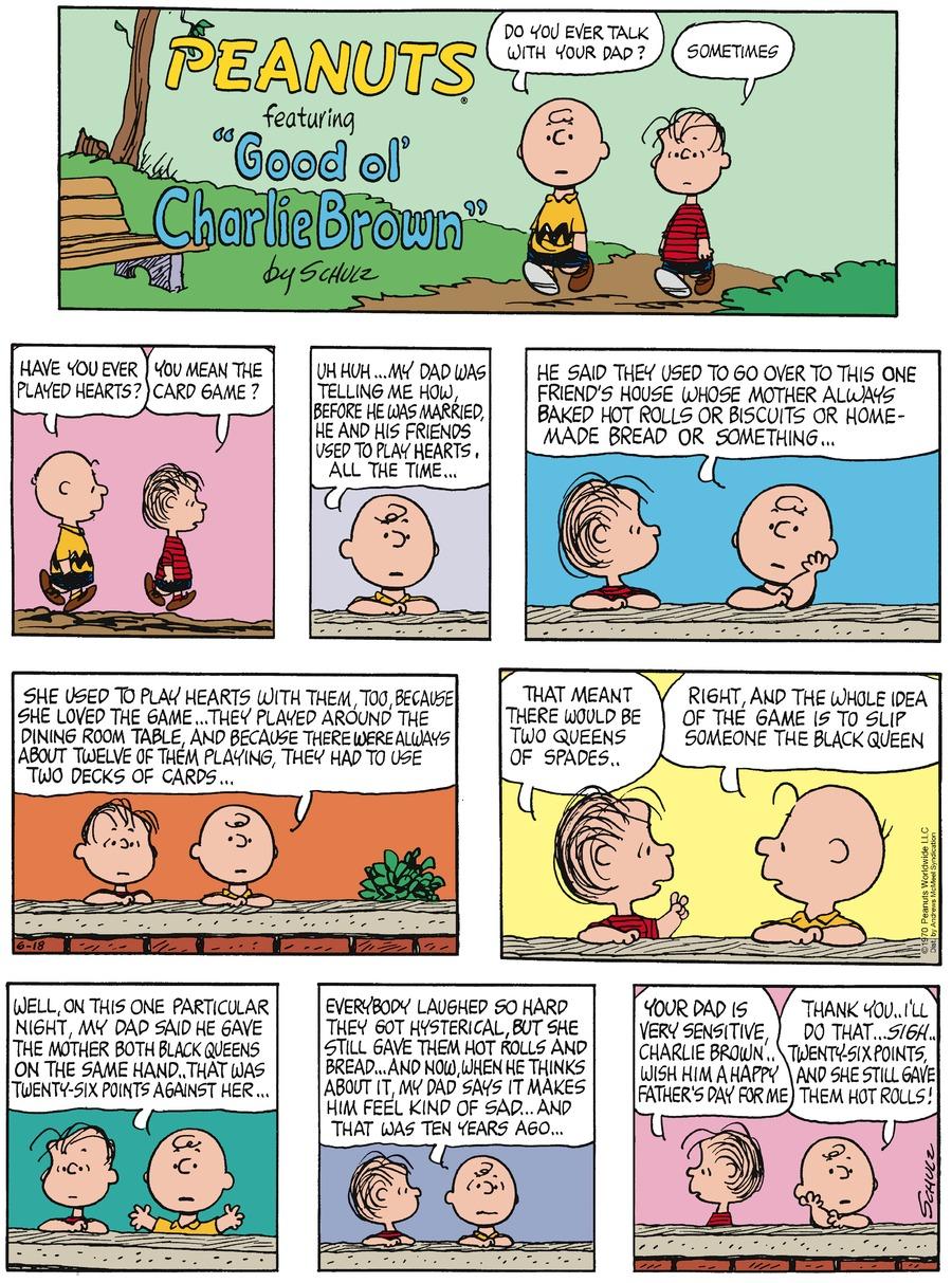 Peanuts for Jun 18, 2017 Comic Strip