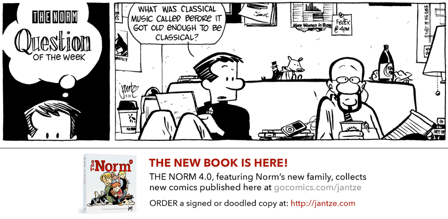 The Norm Classics Comic Strip for September 21, 2019