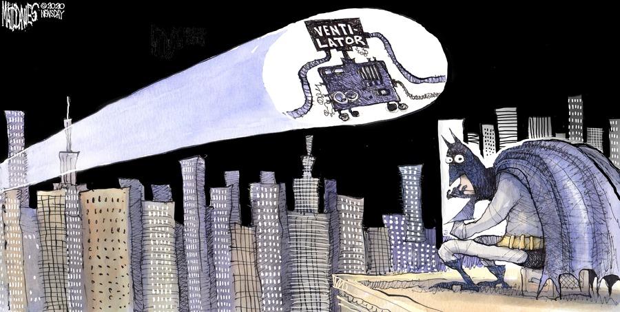Matt Davies Comic Strip for March 29, 2020