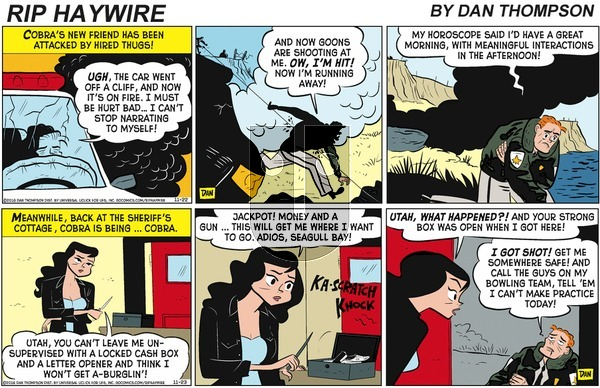 Rip Haywire on Sunday January 19, 2020 Comic Strip