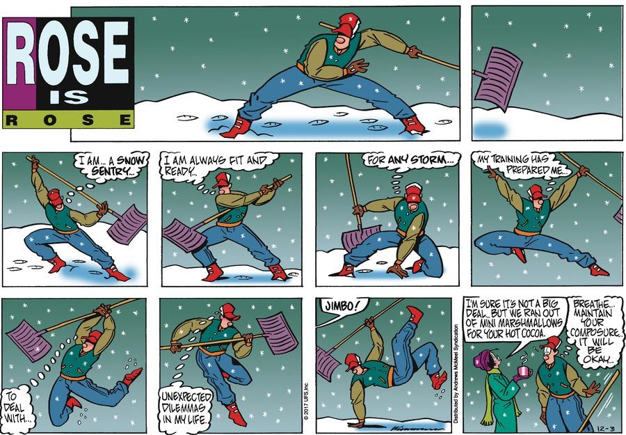 Rose is Rose Comic Strip for December 03, 2017