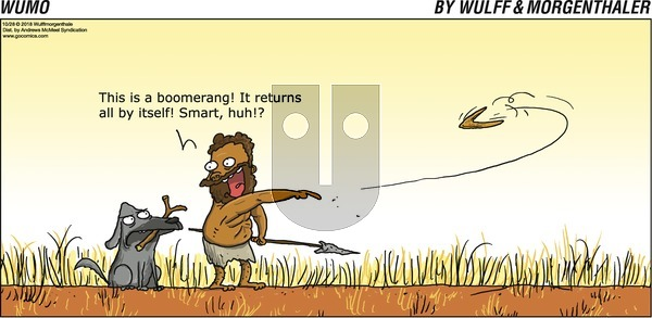 WuMo on Sunday October 28, 2018 Comic Strip
