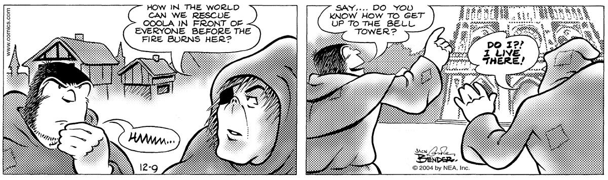 Alley Oop for Dec 9, 2004 Comic Strip