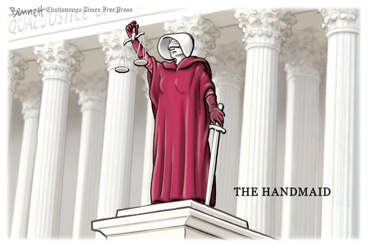 Clay Bennett by Clay Bennett on Wed, 14 Oct 2020